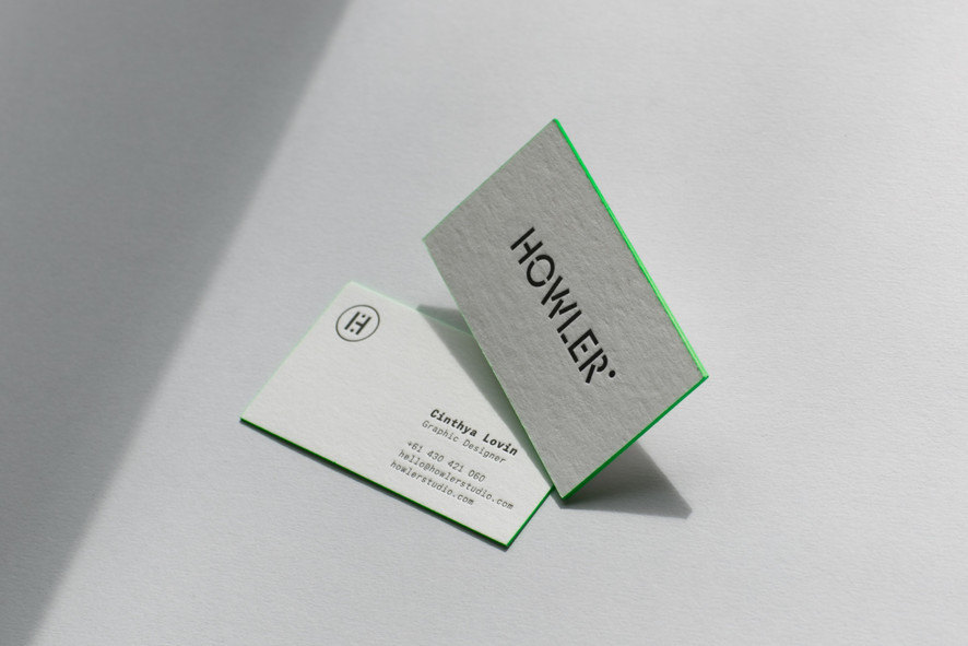 Howler business cards