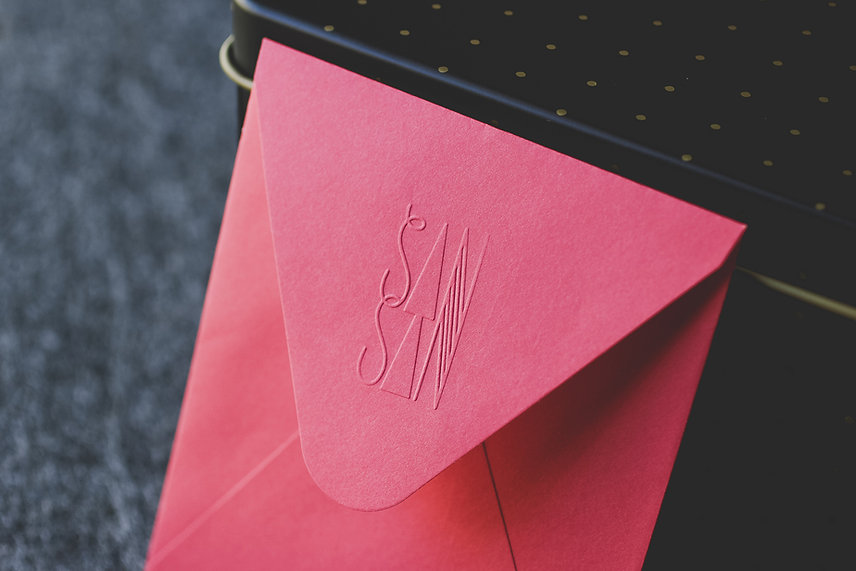 by Stitch Press | stitchpress.com.au | embosser, embossing stamp, custom embosser