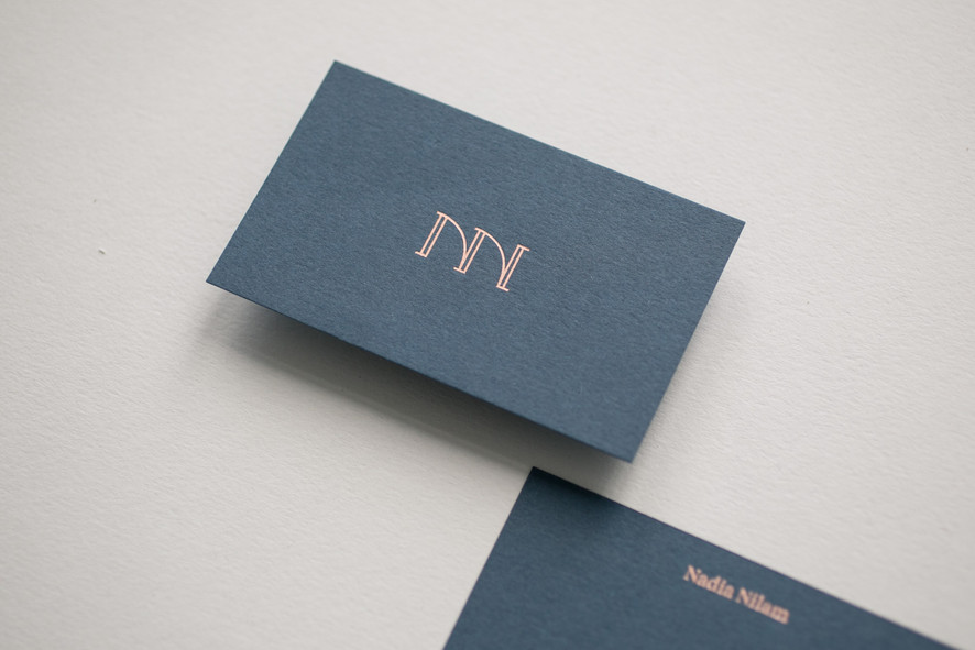 Nadia Nilam business cards