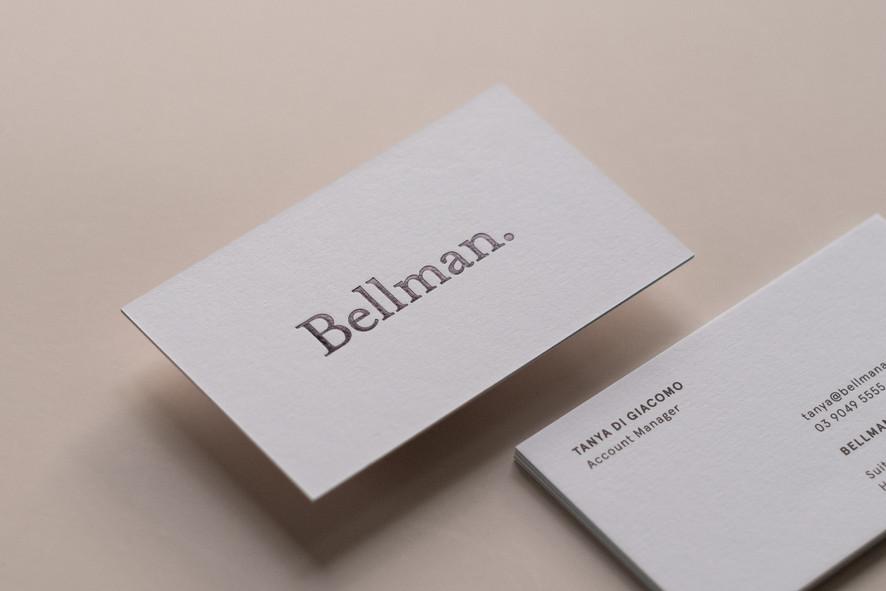 Bellman. business cards