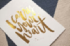 i carry your heart | jasmine dowling | gloss gold foil