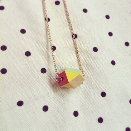 HANDMADE NECKLACE | GEOMETRY #2