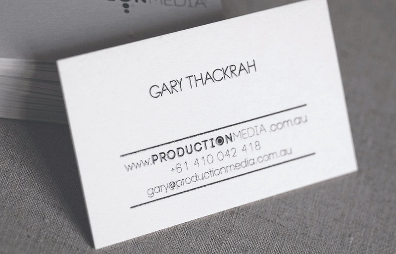 printed by Stitch Press | stitchpress.com.au | scodix UV business card