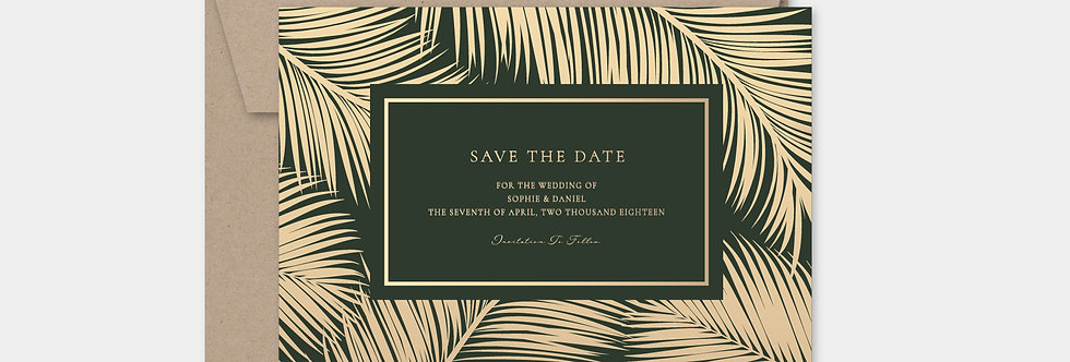 SAVE THE DATE no.7007