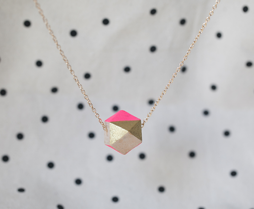 HANDMADE NECKLACE | GEOMETRY #20