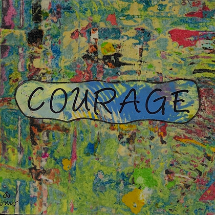 SERENITY PRAYER: Courage to change the things I can