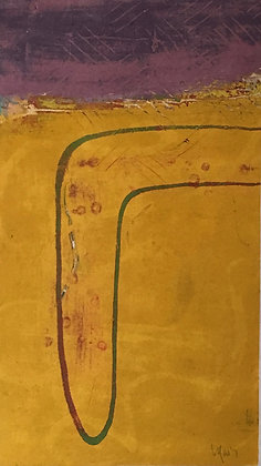 """FIELD OF GOLD (23"""" x 13"""")"""