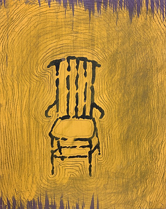 """OUTLINED CHAIR  (11"""" x 9"""")"""