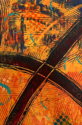 """INTERSECTION (15.75"""" x 11"""")"""