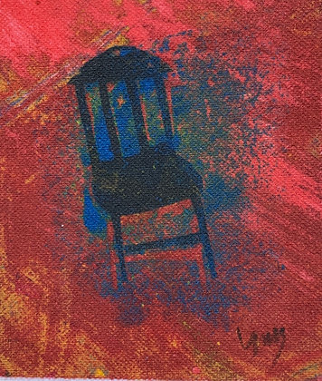 "SMALL CHAIR  (5"" x 4"")"