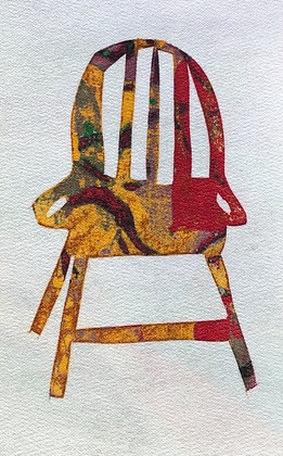 """RED CHAIR   (9"""" x 6"""")"""