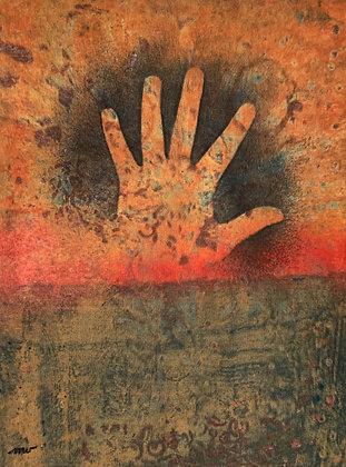 "HELPING HAND (16"" X 12"")"