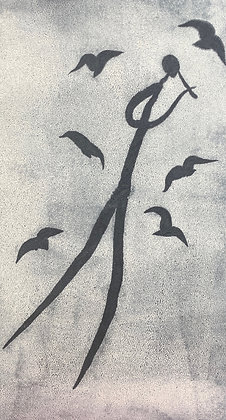 "SHADOW BIRDS  (9.5"" x 5.5"")"