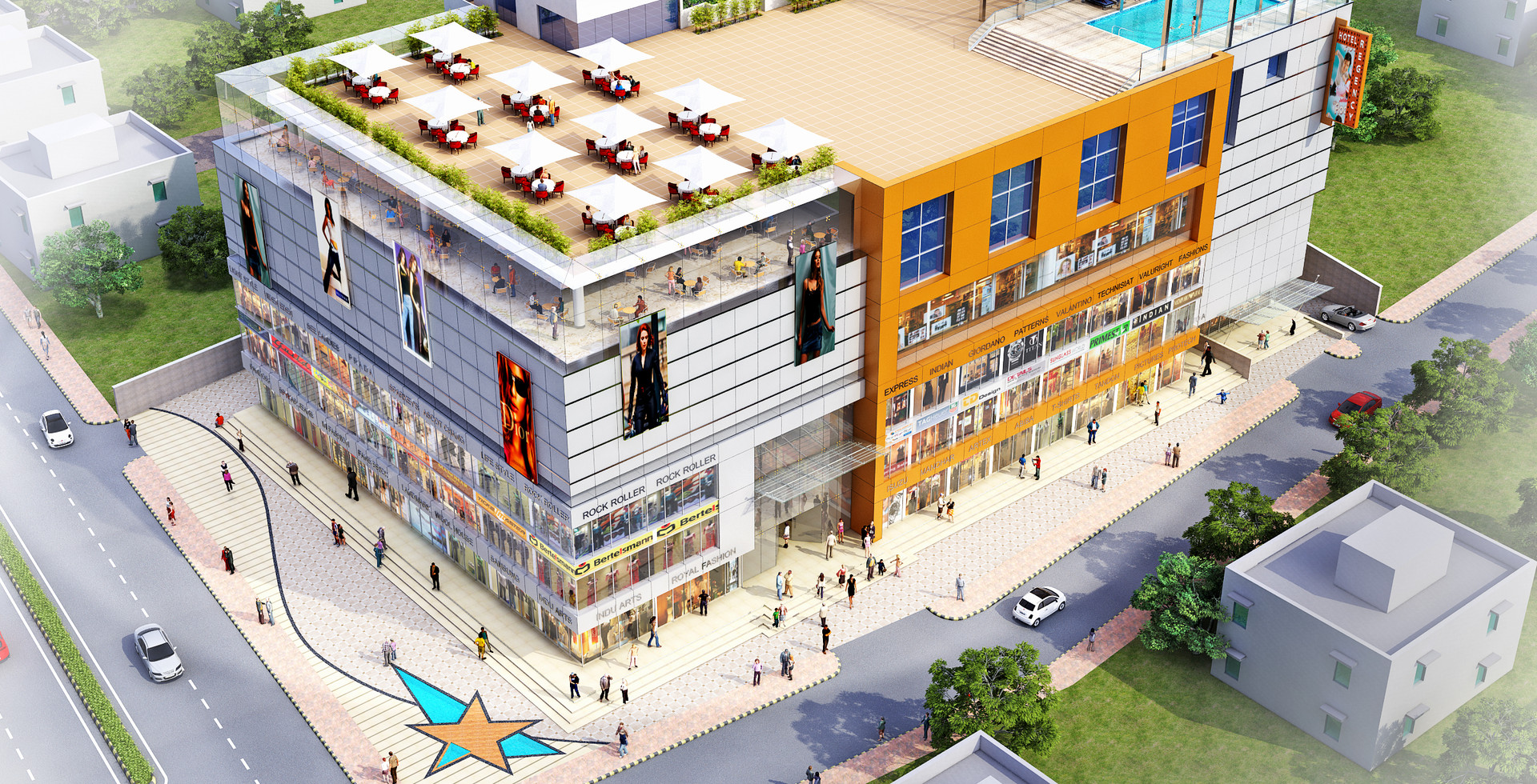 Mall in Raigarh