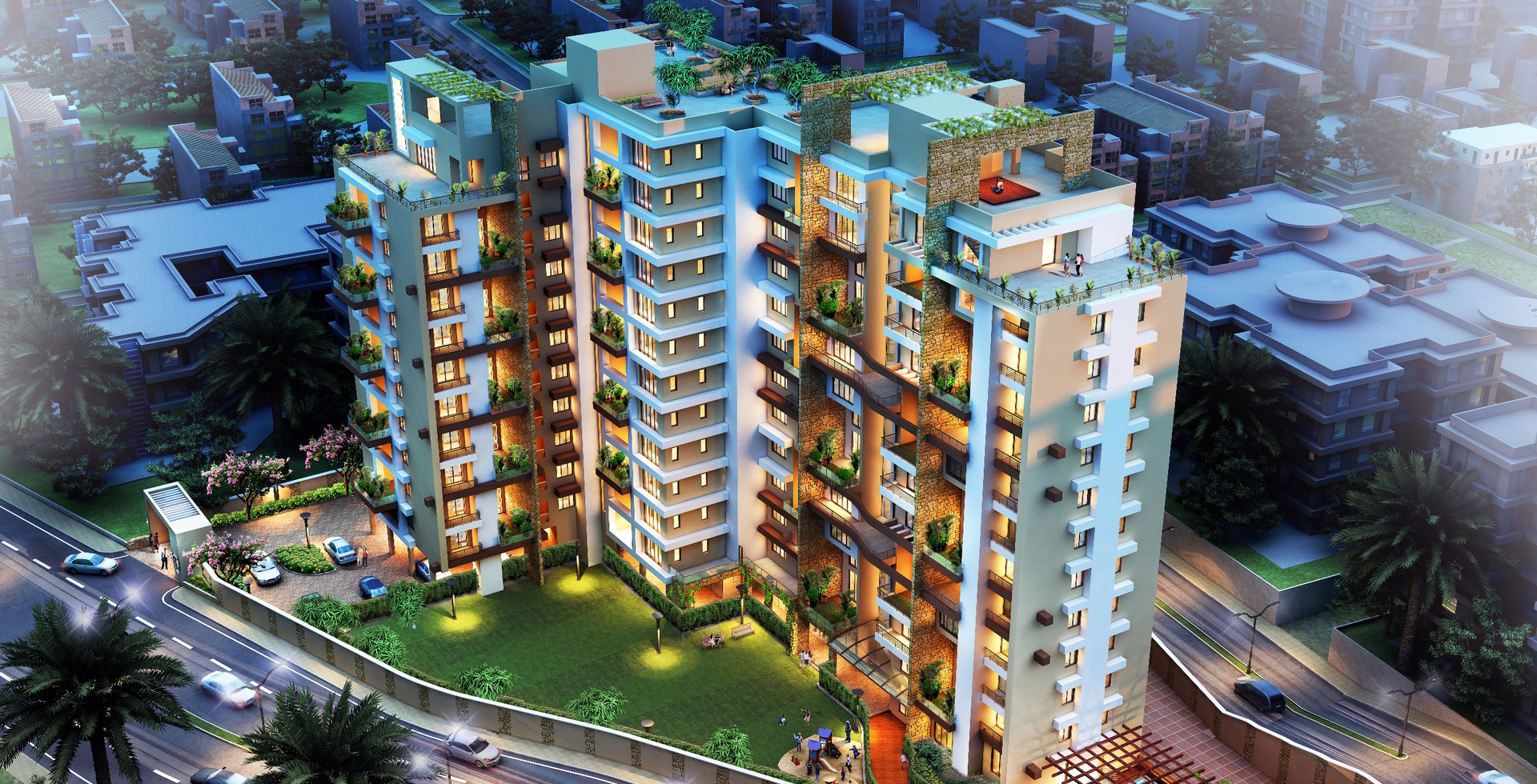 Luxury Residential Towers in Ranchi