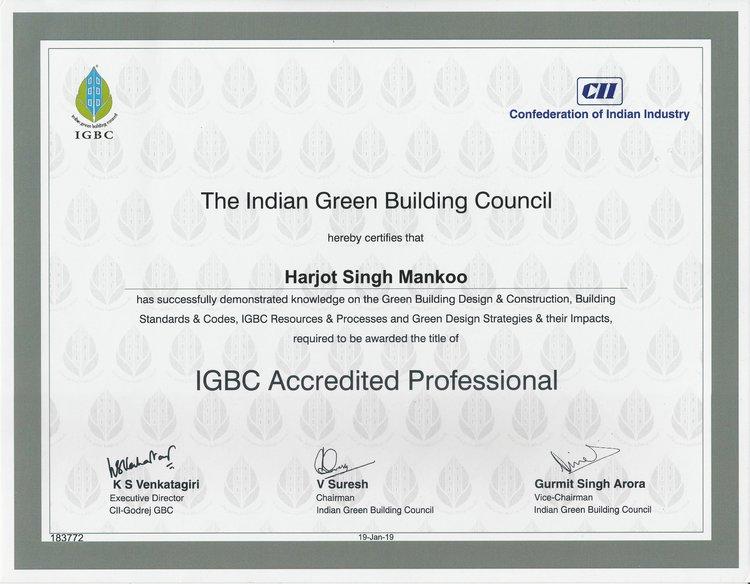 Harjot Singh IGBC AP