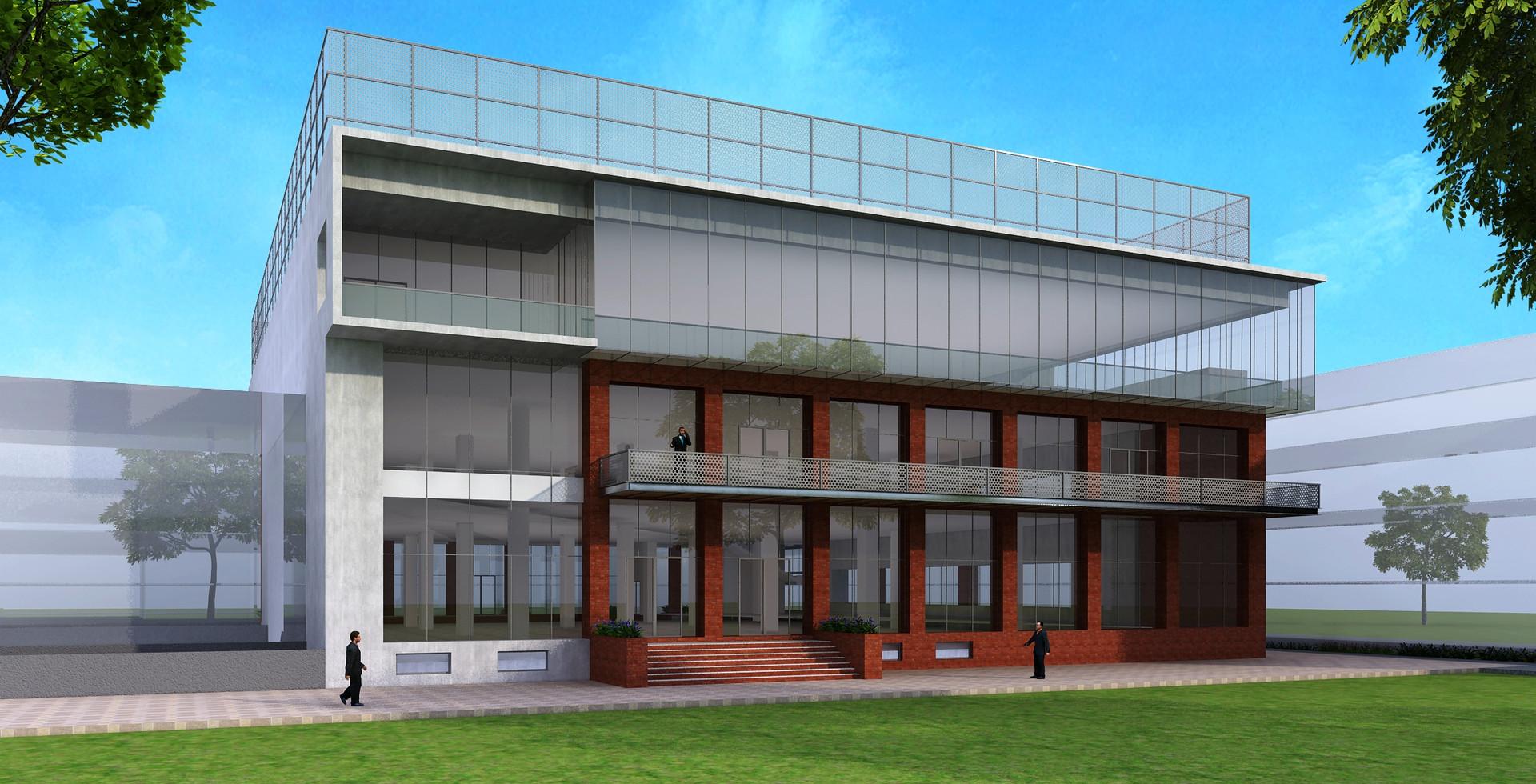 Office Building of School in Indore