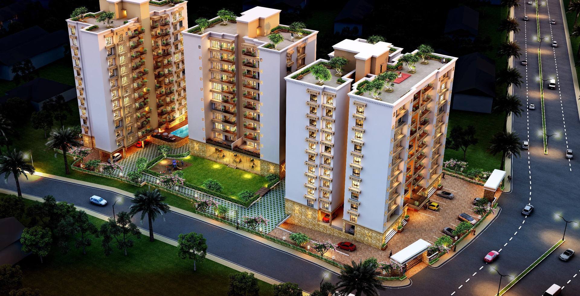 Residential Towers in Ranchi