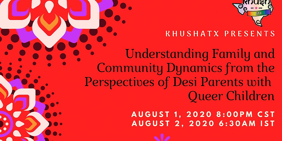 Understanding Family and Community Dynamics from the Perspective of Desi Parents with Queer Children
