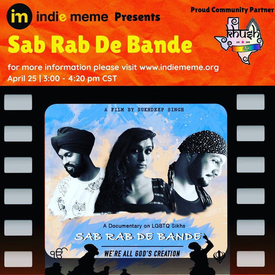 Premier of SAB RAB DE BANDE Partnering with Indiememe.org