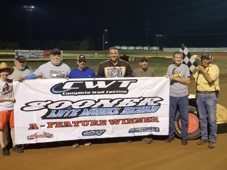 Hughes sweeps weekend with win at Oklahoma Sports Park