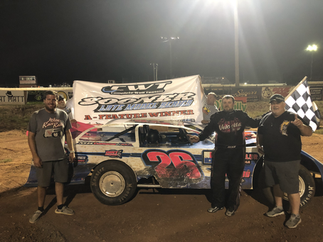 Abbey wins first Sooner Late Model Series feature at Abilene