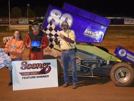 Clevenger outruns field for Sooner Sprint win at Oklahoma Sports Park
