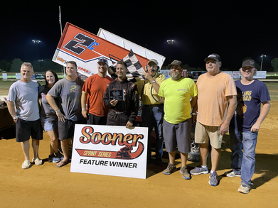 Gastineau unstoppable in Sooner Sprint win at Oklahoma Sports Park