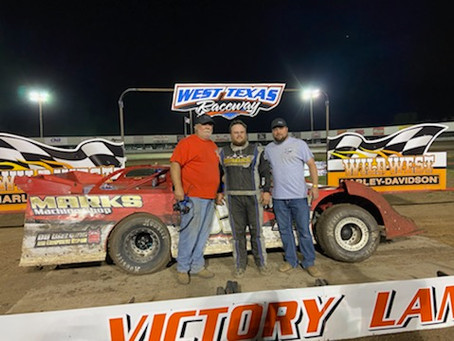 Nickell captures first Sooner Series feature at West Texas Raceway