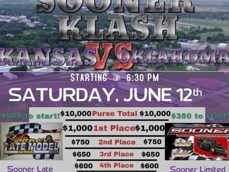 Added money up for grabs at Belleville Kansas Sooner Klash