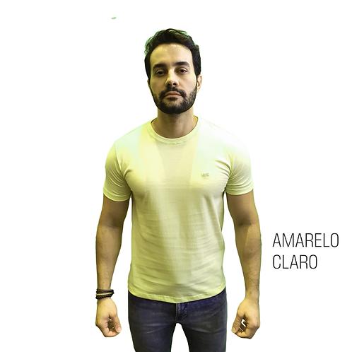 CAMISETA BÁSICA ELEMEN AMARELO CLARO
