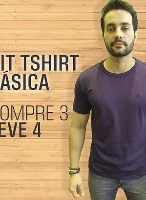 CAMISETA BÁSICA COMPRE 3 LEVE 4