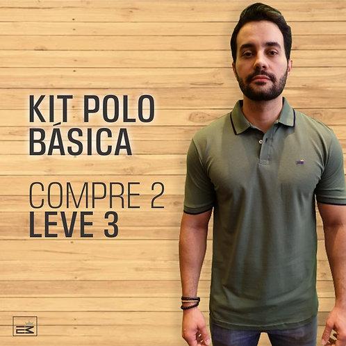 POLO BÁSICA COMPRE 2 LEVE 3