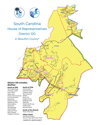 SC HOUSE 120 MAP