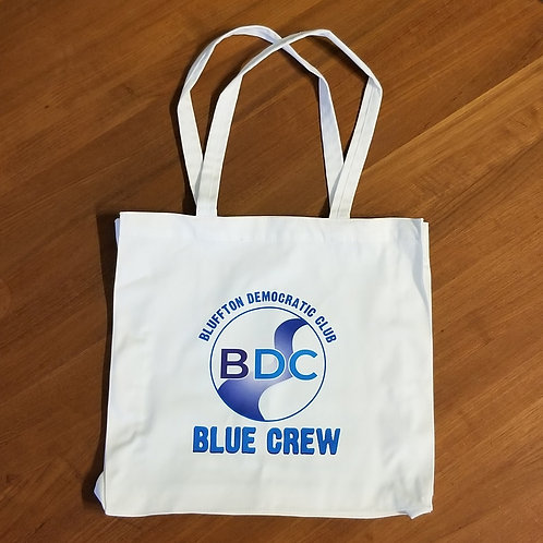 BDC BLUE CREW Cotton Tote Bag