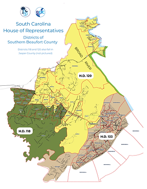 2020 STATE HOUSE DISTRICTS MAP Southern