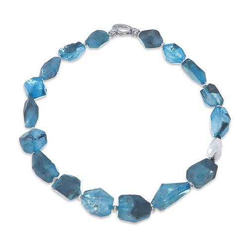 Blue Fluorite Necklace