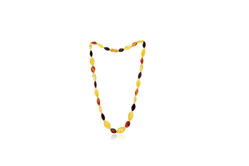 Natural Baltic Sea Mix Amber Necklace