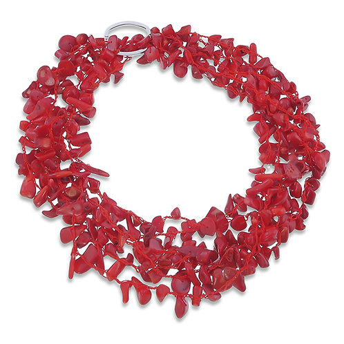 Coral Two Way Necklace