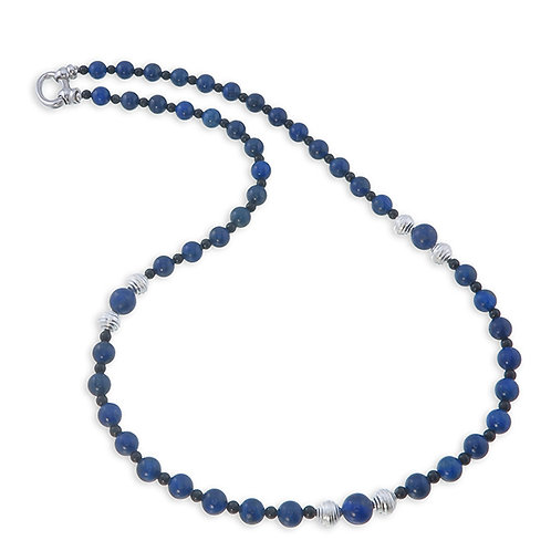 Lapis Long Nekclace
