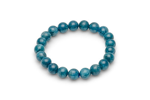 Chrysocolla Ball Bracelet (8mm)