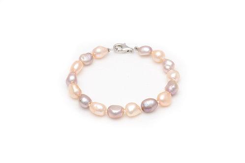 Mixed Fresh Water Pearl Bracelet