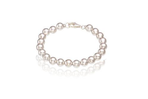 Sterling Silver 21 Ball Bracelet