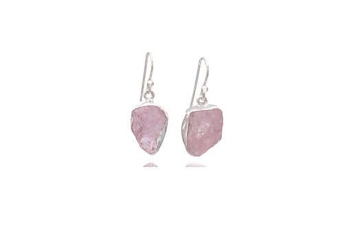 Sterling Silver Morgan Rough Irregular Earrings