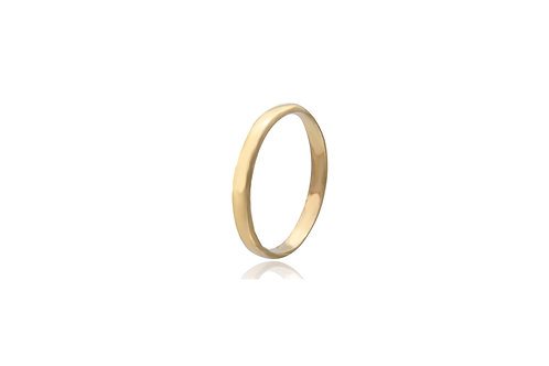 9K Gold Wedding Ring
