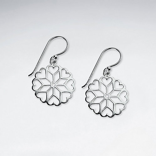 Snowflake Filgree Earrings