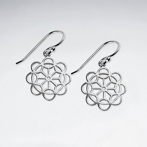 Openwork Dangle Earrings