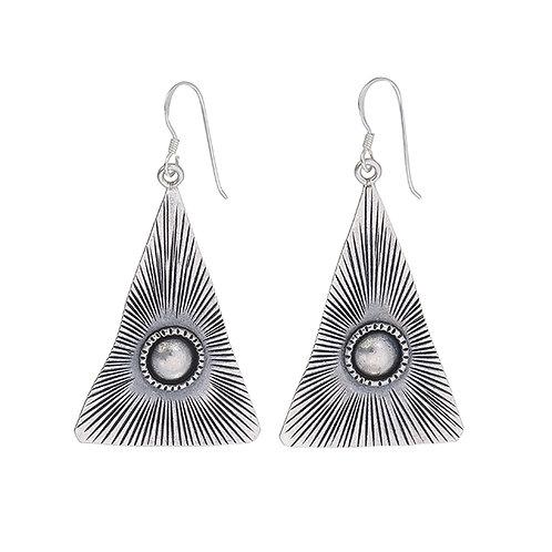Sterling Silver Karen Silver Earrings