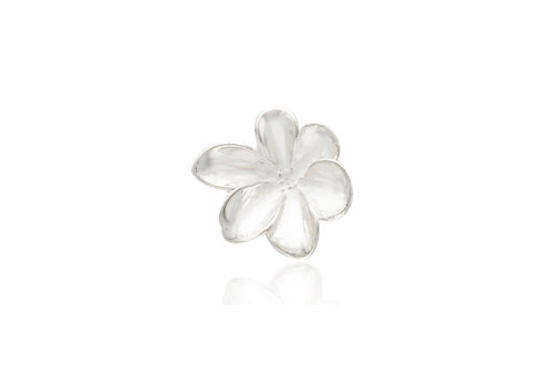 Mexican Silver Flower Pendant
