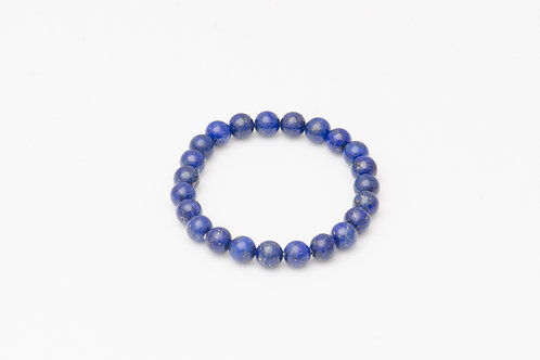 Lapis Lazuli Ball Bracelet 8mm